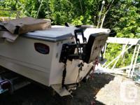 Project Boat and trailer (new bearing's ) Boat, Bimini,