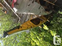 Seaward dual kayak Passat G3, 2012, 22 feet. Just