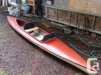 Selling my double recreational fiber glass kayak. Body