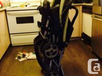 Graco DuoGlider Double Stroller for sale. Gently used
