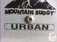 "double stroller, ""Mountain Buggy"" Urban. This was a"