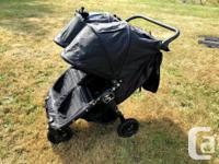 Fantastic double stroller! Easy to maneuver and fits