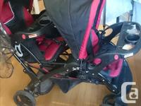 Double stroller for 170$... Its very good condition