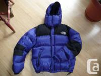 North Face 700 Down Jacket with Gore Dryloft shell
