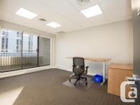 Sq Ft 166 Executive corner office for rent downtown