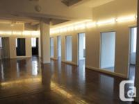 Workplace from 500 square feet to 5000 square feet in a