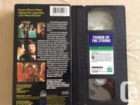 This is for 3 very Rare VHS Dr Who tapes. Terror of