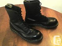 The Original 1460 8 Eyelet Size 8 Men's  WORN