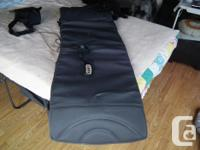 Like new, full body massager. Sits on almost any chair,