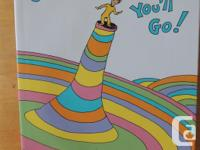Dr.Seuss Oh The Places We'll Go hard cover, great shape