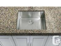 Hand-made design super-sized square cooking area sink