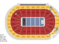 Floor seats, row 40  $375 for the pair Sec 104, row 24