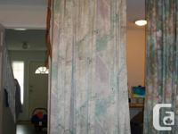 Two set of drapes + 2 single drapes for sale. All 6