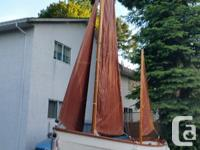 Hard to find. Drascombe Lugger sail boat in great