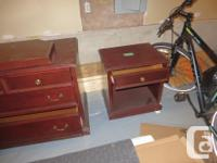 Dresser and night stand, HOTEL QUALITY, SOLID WOOD IN