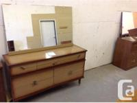 Dresser with mirror...beautiful design...great shape.