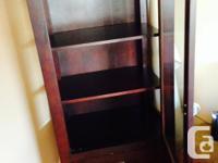 Set of 2 dressers (color: Dark mahogony). Original
