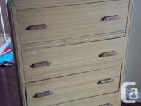 I have 2 dressers for sale, we are downsizing and we no