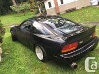 Make Nissan Model 240SX Year 1993 Colour Black kms