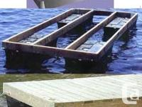 FLOATS FOR FLOATING DOCK -260 pounds to 600lbs -Pay