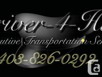 .  Driver-4-Hire is Calgary's newest beginning driving