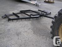 All welded steel building brand-new leveling harrows.