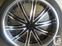 - DIP Wheels. - 235/35ZR20 92Y. - 4 rims on tires, (5