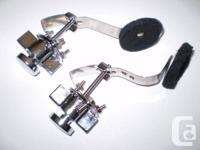 Drum muffler.2 Gilbraltar mufflers that adapt to any