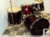 Drum Set $388.00 Drum Set Model DM555; Floor model;