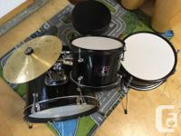 Great drum set for kids. Was used by our son who is now