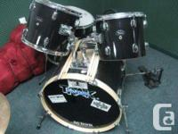 This great drum collection could be yours for simply
