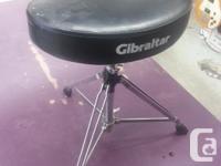 Finder Pressure 507 5 piece Drum kit. Gibraltar Double