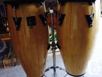 LP Aspire brand 10 and also 11 inch conga drums.