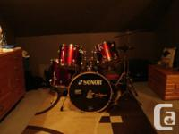 I am offering my Sonor Drum kit as I have actually
