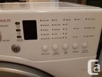 LG dryer in very good condition. Works great. Pictures