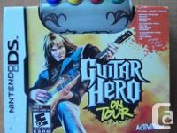 Nintendo DS Video game - Guitar Hero on Trip  On Tour