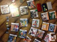 3 DS Consoles (all in good working cond) with 25 games