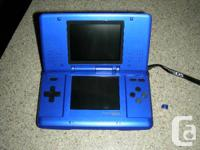 Nintendo DS With 1 Video game DESIGN NTR-001.