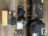 Selling my Nikon d750 with lots of extra. condition is