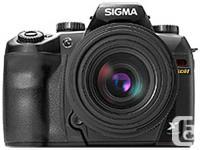 - sensor - 10megapixel equivalent (foveon X3) -
