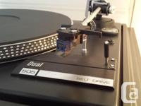 Dual 505 turntable with Ortofon VMS-30MK2 stereo
