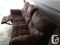 This sofa was acquired brand-new 2 years earlier in