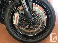 Make Ducati Model Diavel Year 2015 kms 16600 Plus $189