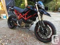 Make Ducati Model Hypermotard Year 2008 kms 20000