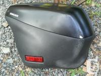 Full set of Ducati Performance hard bags & top case