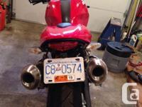 Ducati 696 Monster Naked Street 2009 - 18000 km $7900