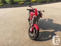 Make Ducati Year 2008 kms 7600 Ducati S2R1000 Monster