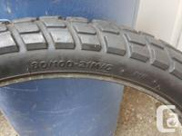 Used Dual-Purpose Motorcycle tires off of a DRZ400,