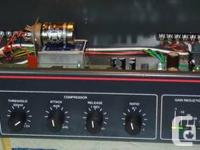 It is a 2RU rackmount audio compressor with extensive
