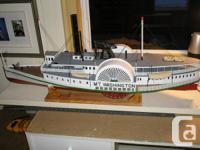 "DUMAS paddle wheel RC Boat ""Mt. Washington""  This is for sale  Ontario"